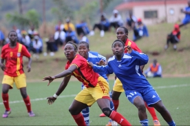 During CECAFA Women's Championships in Njeru,Jinja