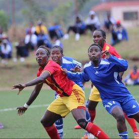 During CECAFA Women's Championships in Njeru,Jinja